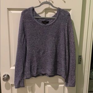Rag and bone blue knitted sweater